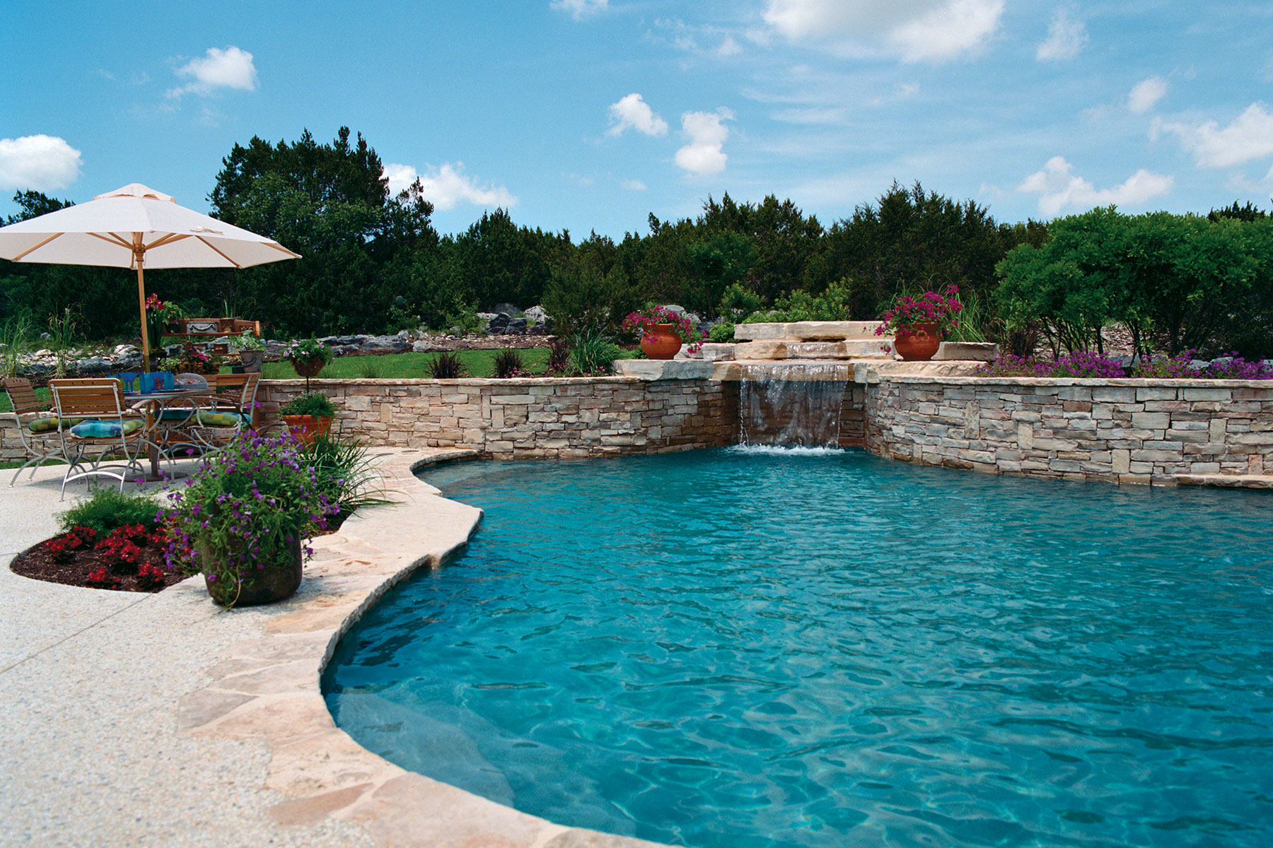 How much does a custom pool cost keith zars pools for Built in pools